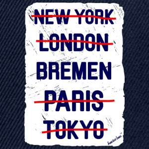 NY London Bremen..., Francisco Evans ™ T-skjorter - Snapback-caps