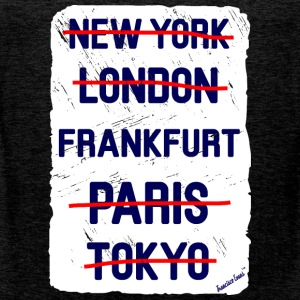 NY London Frankfurt..., Francisco Evans ™ Camisetas - Tank top premium hombre