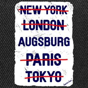 NY London Augsburg..., Francisco Evans ™ T-skjorter - Snapback-caps