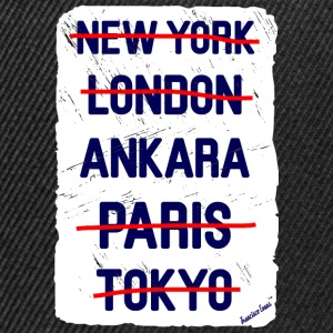NY London Ankara..., Francisco Evans ™ T-Shirts - Snapback Cap