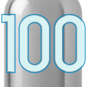 100, Hundert, Hundred, Cent, Cien, Pelibol ™ T-Shirts - Trinkflasche