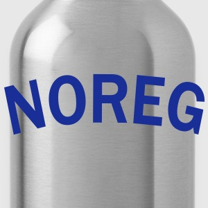 Noreg, Norway, Norwegen, Pixellamb ™ T-Shirts - Water Bottle