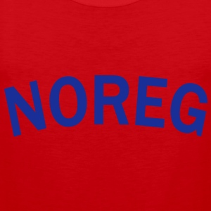 Noreg, Norway, Norwegen, Pixellamb ™ T-Shirts - Men's Premium Tank Top