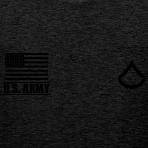 Private First Class PFC US Army, Mision Militar ™ T-shirts - Mannen Premium tank top