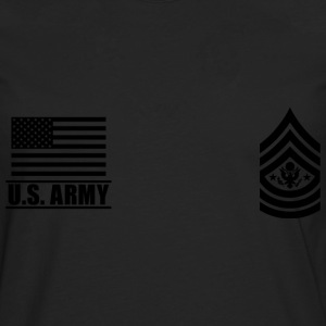Sergeant Major of the Army SMA US Army T-skjorter - Premium langermet T-skjorte for menn