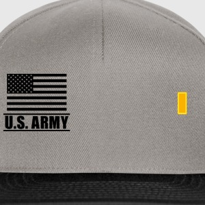 Second Lieutenant 2LT US Army, Mision Militar ™ T-skjorter - Snapback-caps