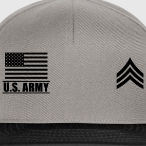 Sergeant SGT US Army, Mision Militar ™ Magliette - Snapback Cap