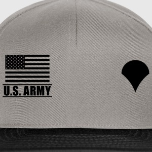 Specialist SPC US Army, Mision Militar ™ Magliette - Snapback Cap