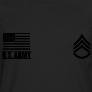 Staff Sergeant SSG US Army, Mision Militar ™ Tee shirts - T-shirt manches longues Premium Homme