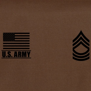 Master Sergeant MSG US Army, Mision Militar ™ Magliette - Tracolla
