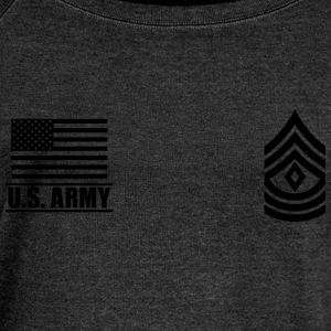 First Sergeant 1SG US Army, Mision Militar ™ T-Shirts - Women's Boat Neck Long Sleeve Top