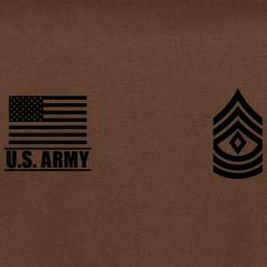 First Sergeant 1SG US Army, Mision Militar ™ Magliette - Tracolla