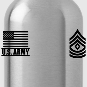 First Sergeant 1SG US Army, Mision Militar ™ T-Shirts - Water Bottle