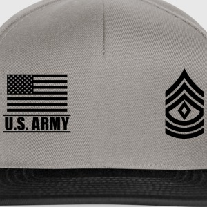 First Sergeant 1SG US Army, Mision Militar ™ Magliette - Snapback Cap