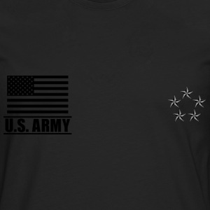 General of the Army GA US Army, Mision Militar ™ T-skjorter - Premium langermet T-skjorte for menn