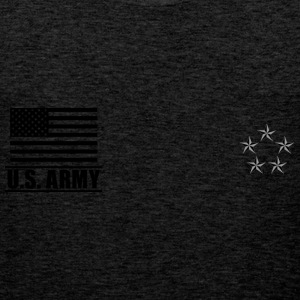 General of the Army GA US Army, Mision Militar ™ T-skjorter - Premium singlet for menn