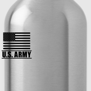 Private PV1 US Army, Mision Militar ™ T-Shirts - Trinkflasche