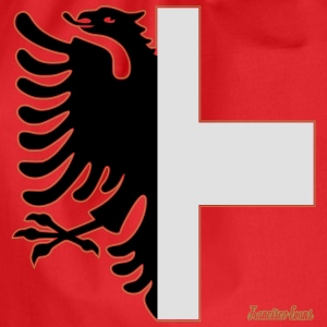 Albania Switzerland Coat of Arms, Francisco Evans T-shirts - Gymtas