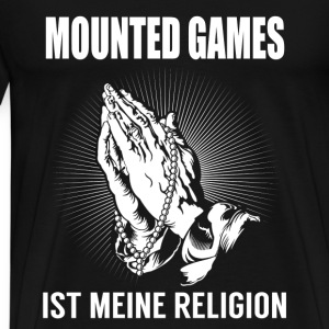 Mounted games - my religion Long Sleeve Shirts - Men's Premium T-Shirt
