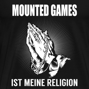 Mounted games - my religion Sports wear - Men's Premium T-Shirt