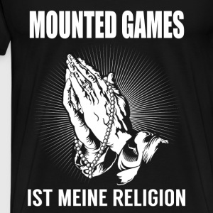 Mounted games - my religion Hoodies & Sweatshirts - Men's Premium T-Shirt