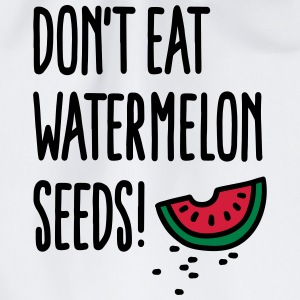 Don't eat watermelon seeds T-shirts - Gymtas