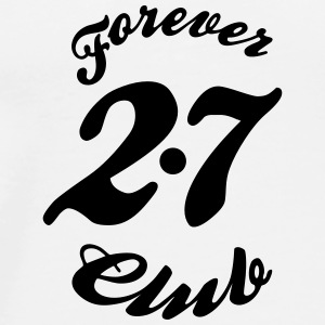 Forever 27 Club Badges - T-shirt Premium Homme