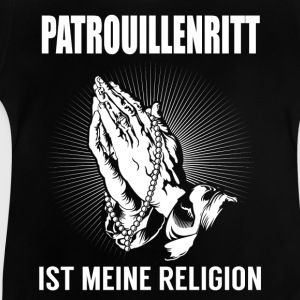 Patrull ride - min religion T-shirts - Baby-T-shirt