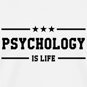 Psychologist Psychologe Psychologue Psychology Baby Bodysuits - Men's Premium T-Shirt