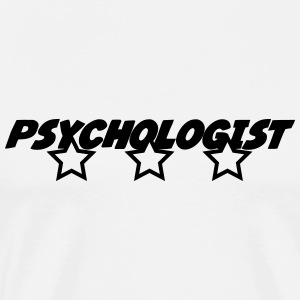 Psychologue / Psychiatre / Travail / Psychanalyste Tabliers - T-shirt Premium Homme