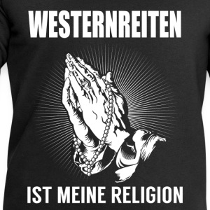 Western riding - my religion Tops - Men's Sweatshirt by Stanley & Stella