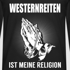 Western riding - my religion Tops - Men's Premium Longsleeve Shirt