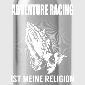 Course d'aventure - ma religion Tee shirts - Gourde