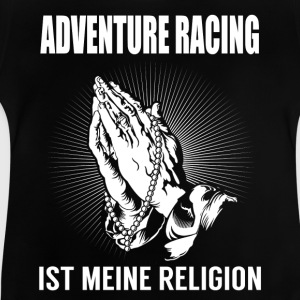 Adventure racing - min religion T-shirts - Baby-T-shirt