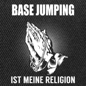 Base jumping - my religion Tops - Snapback Cap