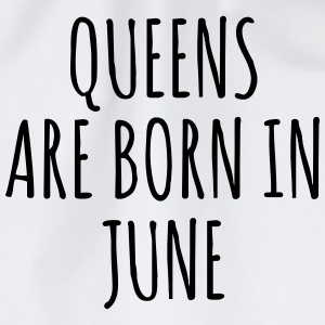 Queens are born in June T-Shirts - Drawstring Bag