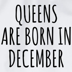 Queens are born in December T-Shirts - Drawstring Bag