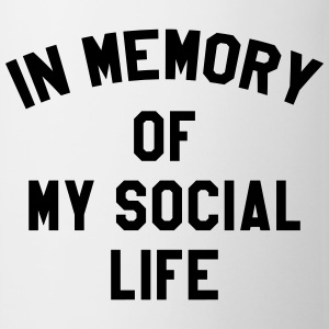 In memory of social life Tee shirts - Tasse