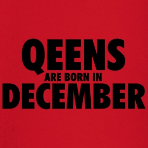 Queens are born in December T-Shirts - Baby Long Sleeve T-Shirt