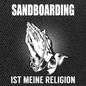 Sandboarding - ma religion Manches longues - Casquette snapback