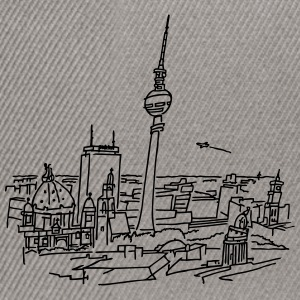 Le panorama de Berlin  Sweat-shirts - Casquette snapback