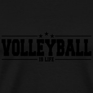 volleyball is life 1 Ropa deportiva - Camiseta premium hombre
