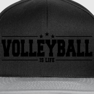 volleyball is life 1 Sudaderas - Gorra Snapback