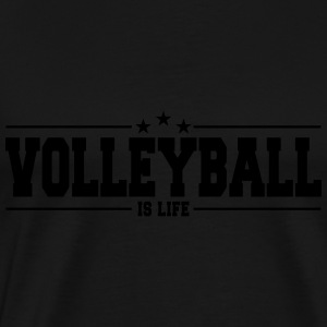 volleyball is life 1 Pullover & Hoodies - Männer Premium T-Shirt