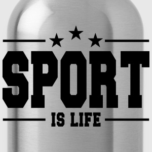 sport is life 1 Shirts - Drinkfles
