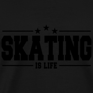 skating is life 1 Sweats - T-shirt Premium Homme