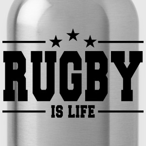 rugby is life 1 Toppe - Drikkeflaske