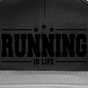 running is life 1 Débardeurs - Casquette snapback