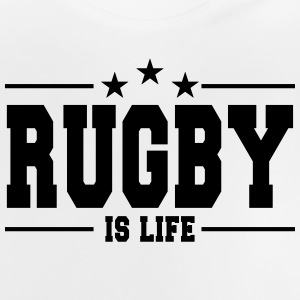 rugby is life 1 Sweaters - Baby T-shirt