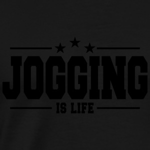 jogging is life 1 Sweat-shirts - T-shirt Premium Homme